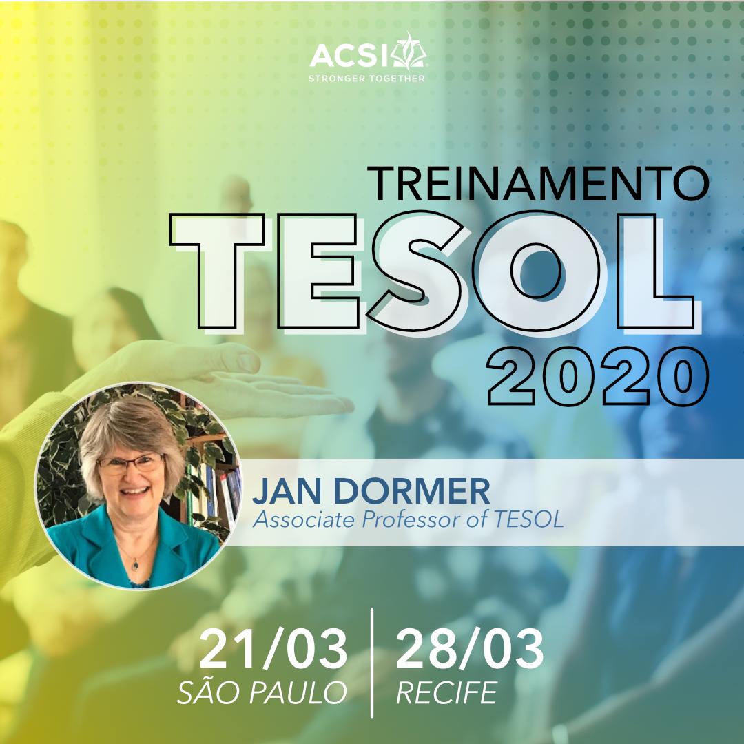 Treinamento TESOL 2020
